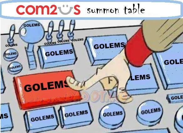 Rng Summons Golem