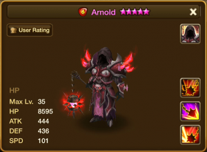 Arnold Fire Stats