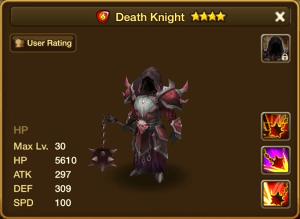 Fire Death Knight Stats