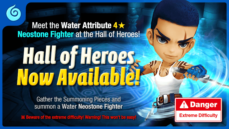 Hall of Heroes – Ryan the Water Neostone Fighter