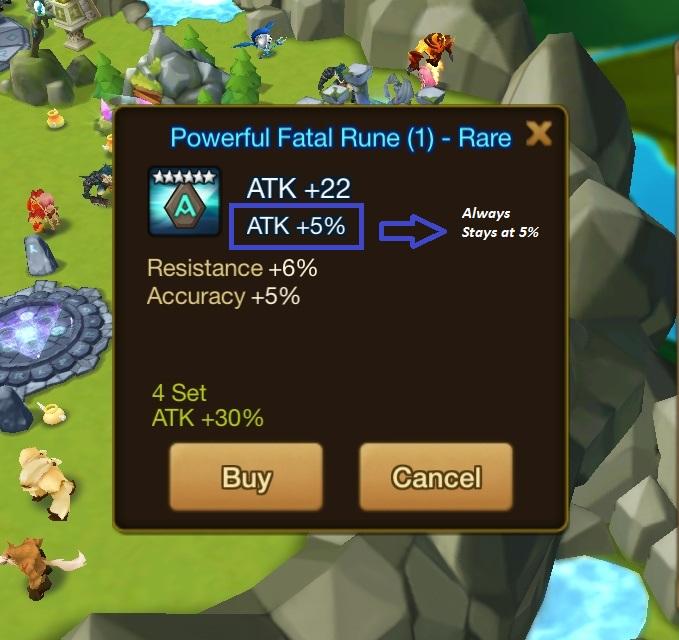 Rune Innate Stats