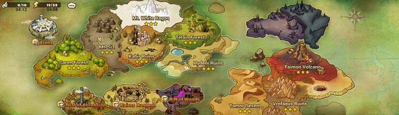 Summoners War Battle Map Guide