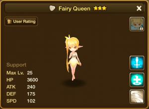 Fairy Queen Stats