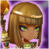 Wind Desert Queen Hathor Image