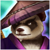 Panda Warrior Dark