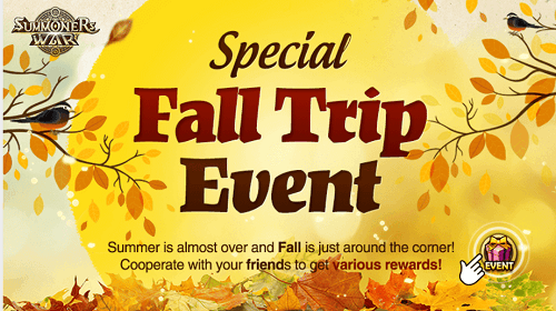 Special Fall Trip Event [ Sep. 5th 12am – Sep. 20th 8am PDT]