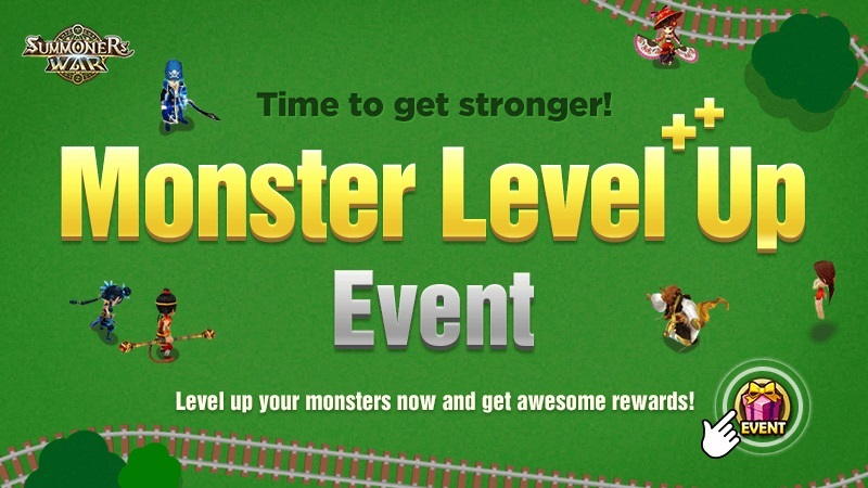 Monster Level Up Event [Childish Plays]