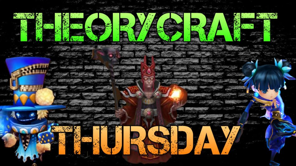 Summoners War | THEORYCRAFT THURSDAY: Reno Skill Multipliers, Vampire Frontline Rune Builds & More!!