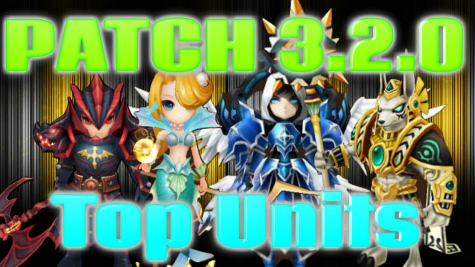 Summoners War | Patch 3.2.0 Top Units and Potential Rune Builds with PioneerSummoner