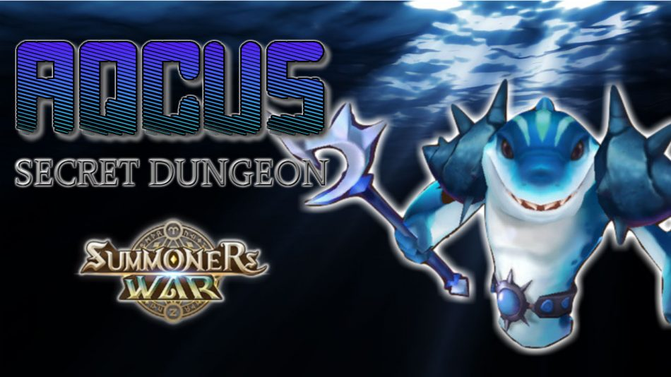 Aqcus [Water Charger Shark] Secret Dungeon!