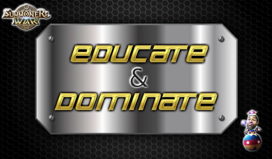 Educate & Dominate : Chuffles!