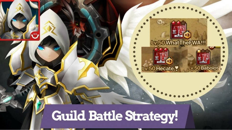 Summoners War Guild Battle Guide [Knightly Gaming]