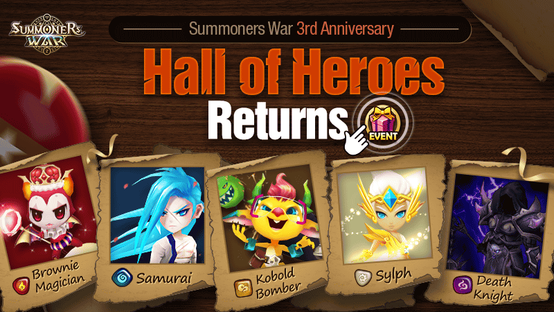 Hall Of Heroes[HoH] Returns! – 3rd Anniversary