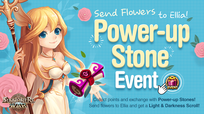 Power Up Stone Event