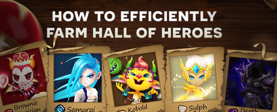 How to Efficiently Farm Hall of Heroes