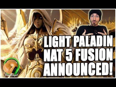 New Light Paladin [Nat 5 Fusion + Recipe]