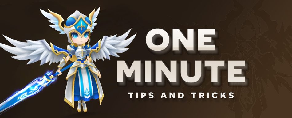 One Minute Tips and Tricks