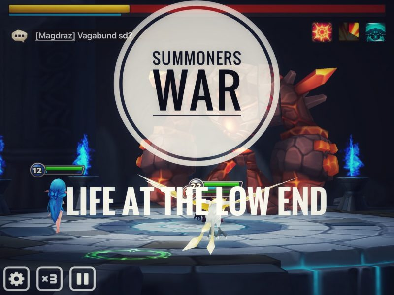 Summoners War Rewards [Life At The Low End Part 2]