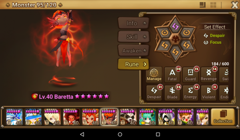 Building These Units – Baretta (Fire Sylph)