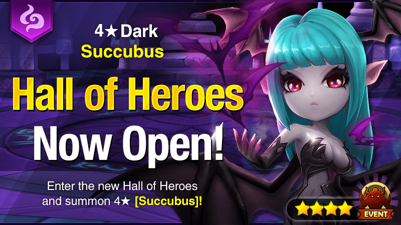 June  Hall of Heroes – Isael [Dark Succubus]