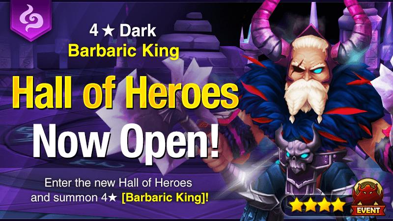 November Hall of Heroes – Hrungnir [Dark Barbaric King]