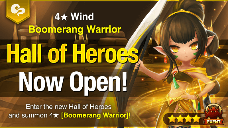 December Hall of Heroes [Zenobia – Wind Boomerang Warrior]