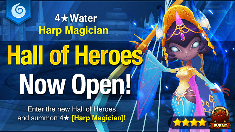 January Hall of Heroes [Sonnet – Water Harp Magician]