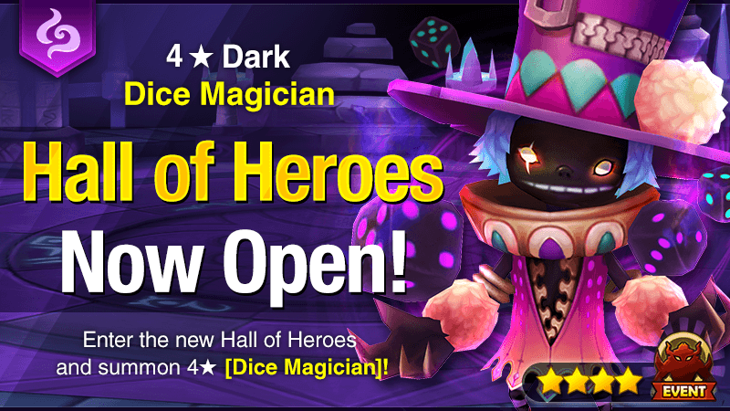 April Hall of Heroes [Monte – Dark Dice Magician]