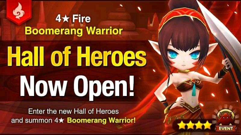 October Hall of Heroes [Maruna – Fire Boomerang Warrior]